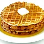 How to Make Spicy Waffles With Chocolate Maple Syrup #recipemash