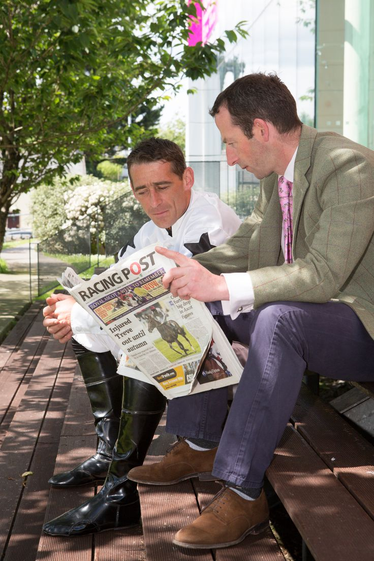 Champion Irish Jockey, Davy Russell and Trainer Jim Culloty at the launch of the Galway Races 2014 Calendar of events at the g Hotel & Spa, Galway www.theghotel.ie