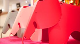 Eames Red Elephant - Child's room - Room