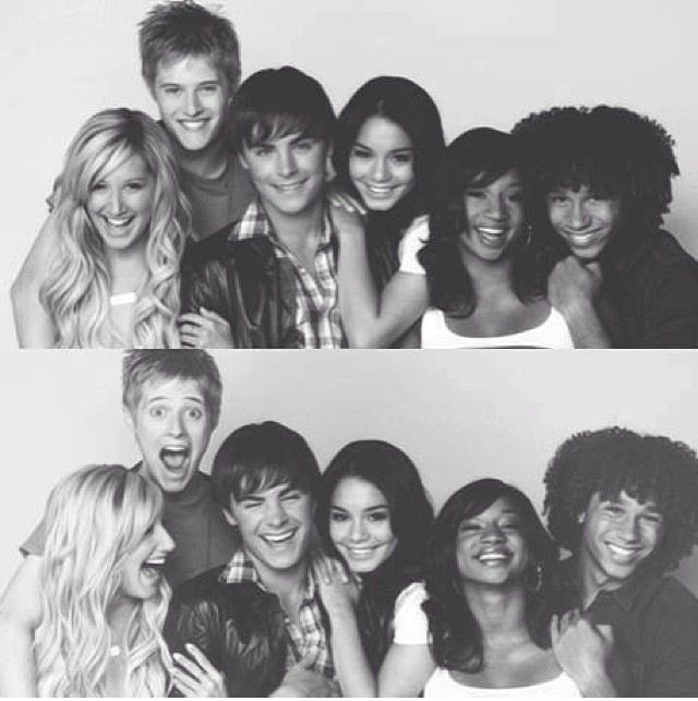Ashley Tisdale, Lucas Grabeel, Zac Efron, Vanessa Hudgens, Monique Coleman & Corbin Bleu: HIGH SCHOOL MUSICAL!