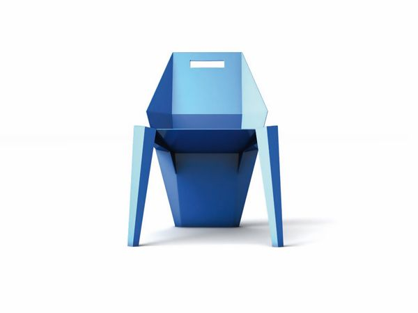 Plastic Lounge Chair By Mauro Fragiotta