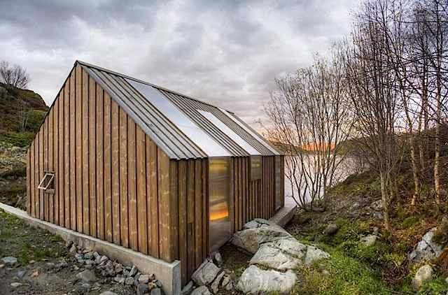 Architect Visit: Boathouse by Tyin Tegnestue in Norway : Remodelista