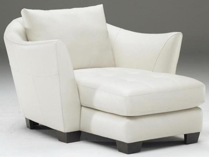 Leather Shaped Natuzzi Chaise Lounge White Natuzzi Chaise Lounge