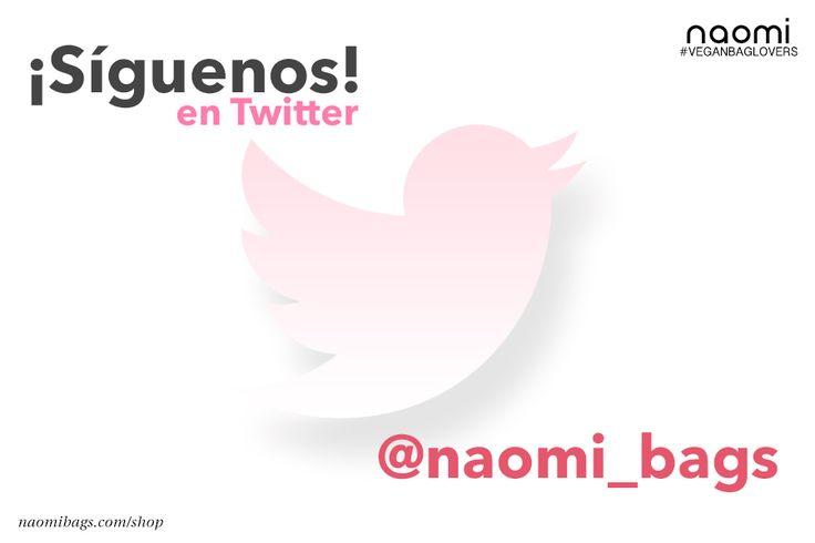 #Naomibags #veganbaglovers Te gusta twitter? entonces... https://twitter.com/naomi_bags?utm_content=buffer317b8&utm_medium=social&utm_source=pinterest.com&utm_campaign=buffer