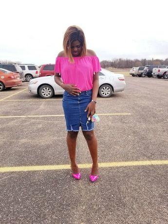 Shop Bardot Scalloped Hem Top online. SheIn offers Bardot Scalloped Hem Top & more to fit your fashionable needs.