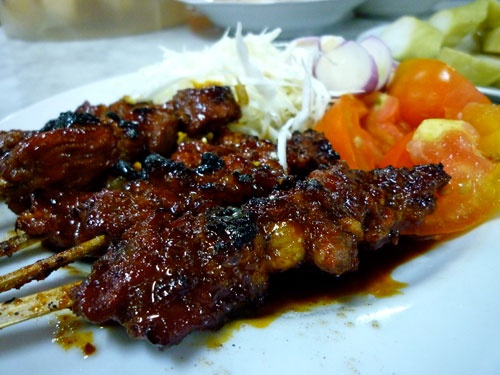 Goat Satay - Indonesia  (Sate Kambing)