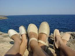 """Sandalen """" lighter than air"""" - Platte sandalen AMA"""