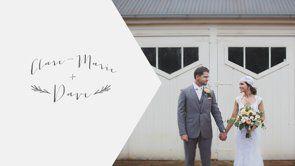 Clare-Marie + Dave's Wedding Film