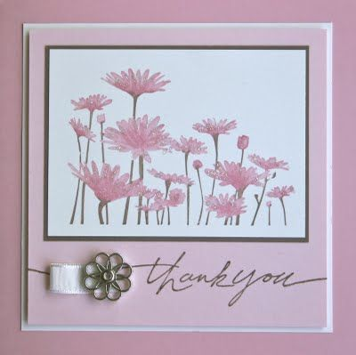 clean and simple: Shelley S Stamping, Cards Stamping, Flower Card, Cardmaking, Pink, Card Making, Card Ideas, Stamping Ground