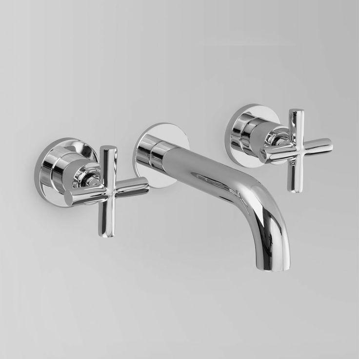 basin mixers, wall mounted