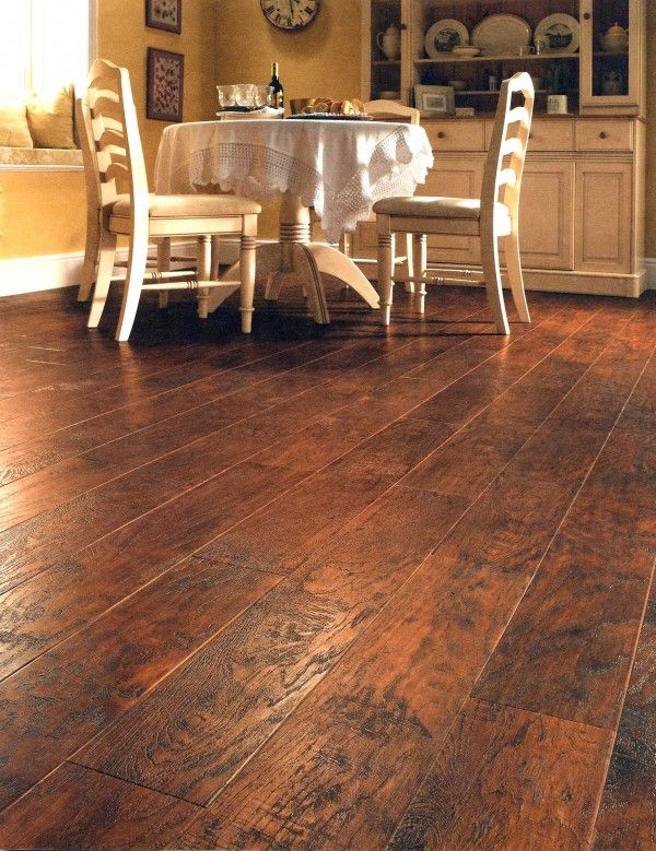 Wow!!!   This is vinyl flooring. May have to rethink my kitchen floor plan now!