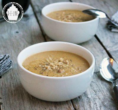 Q-e-zine: Soupe de châtaignes et pois chiches