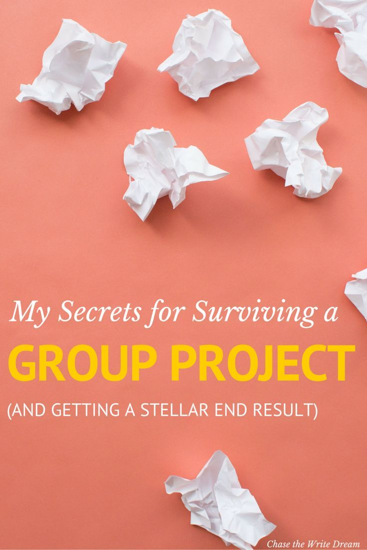 My Secrets for Surviving a Group Project (and Getting a Stellar End Result) | Whether you're a college student working on a project or a professional who is part of a team, these tips for working in groups will help you get focused, stay organized, and produce an awesome end result