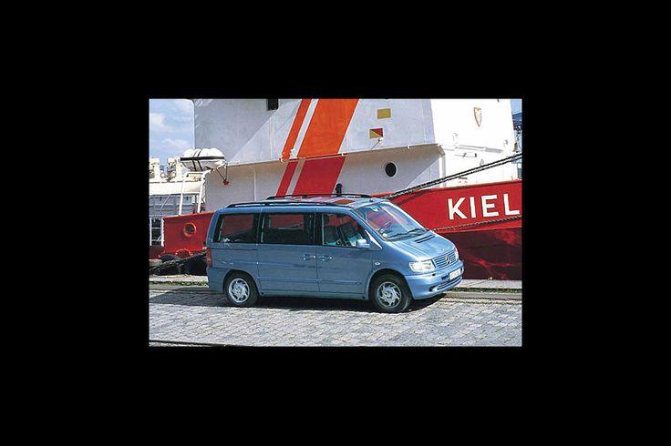 Mercedes V 220 CDI : 100 000 Kilometer mit Deutschlands Lademeister