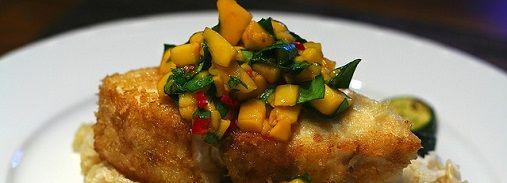 Bonefish Grill Warm Mango Salsa Love this salsa over seared scallops and rice