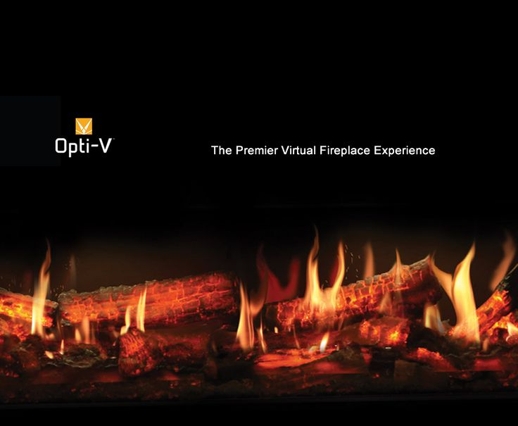 Believe Your Eyes! Opti-V™ Duet uses unprecedented technology to render flames and sparks for a virtual fireplace experience like no other. The unique and patent protected design combines ultra realistic flickering flames with three dimensional LED logs that sporadically spark and crackle!