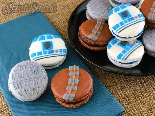 Star Wars macarons en Fimo ? #StarWars #Fimo #Polymer