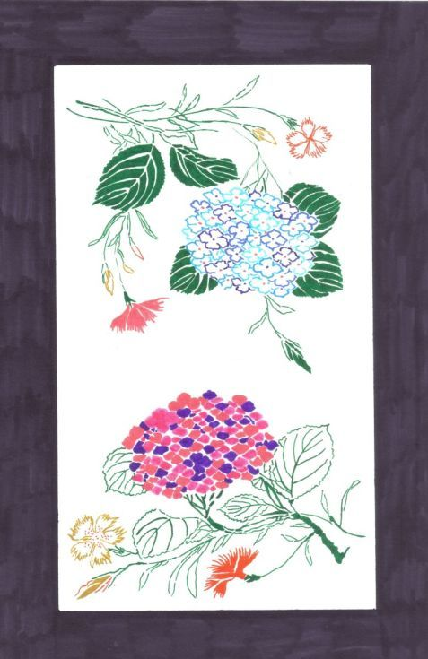 Buy Hydrangea and Gillyflower, Ink drawing by Caroline Andreea Zgortea on Artfinder. Discover thousands of other original paintings, prints, sculptures and photography from independent artists.