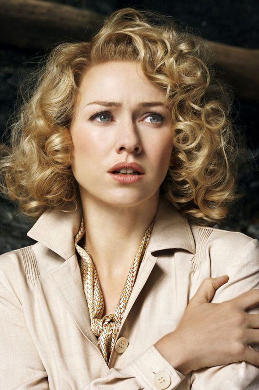 Naomi Watts in King Kong. Love this hair and makeup.