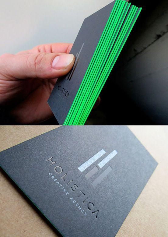 Neon on Black Design