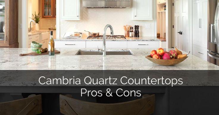 Cambria Quartz Countertops Pros & Cons :http://www.sebringservices.com/cambria-quartz-countertops-pros-and-cons/