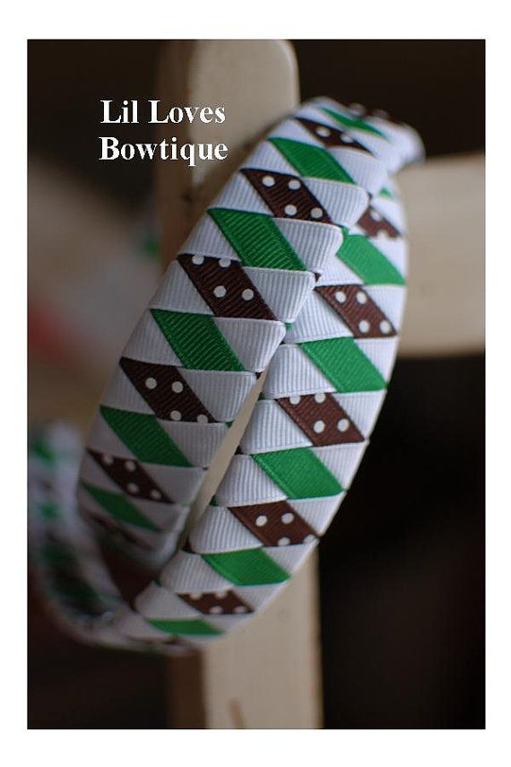 Girl Scouts Brownies Daisy Inspired Green by LilLovesBowtique, $6.50