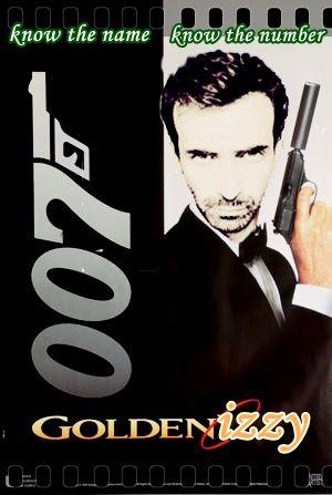 007 goldenIZZY