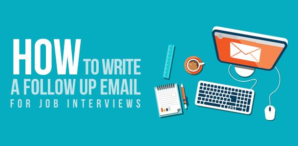 How to Write a Follow-up Email for Job Application    www - resume follow up email samples