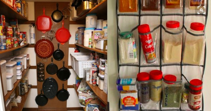 Double your pantry space with these 30 hacks turning a small space into an organized, clean one