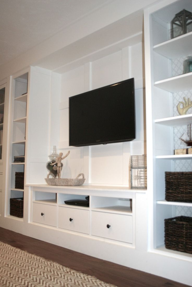 Best 25 custom entertainment center ideas on pinterest for Built in wall units