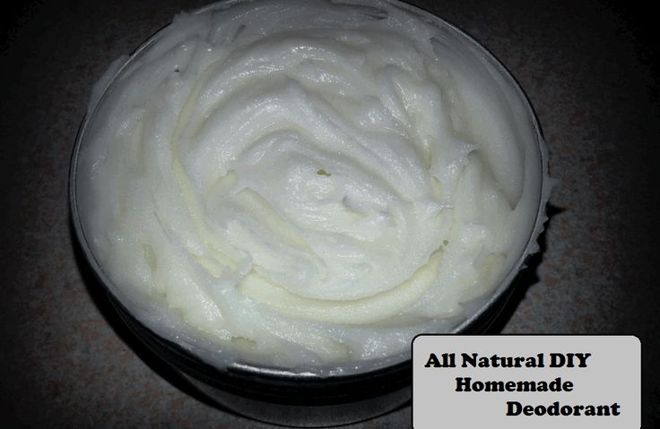 Homemade Natural Deodorant