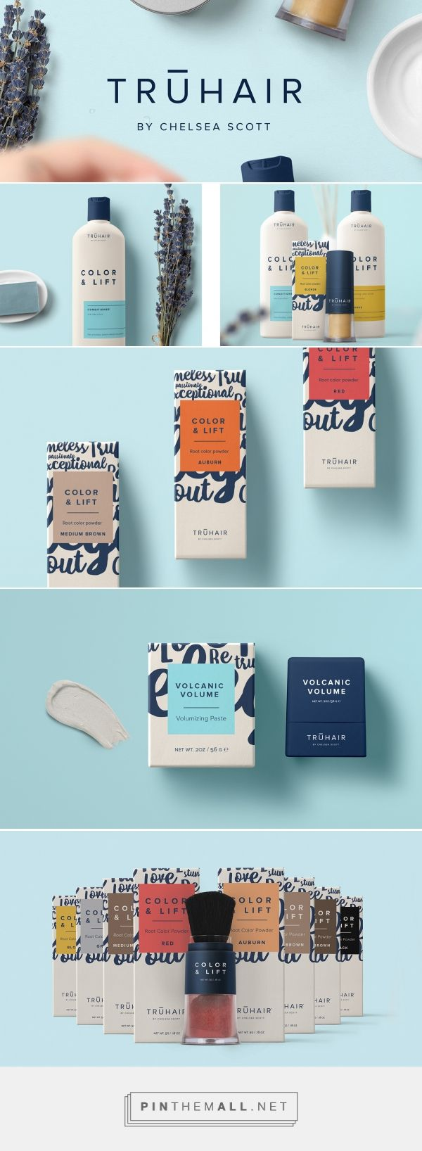 Truhair Hair Care Packaging by Hype Group | Fivestar Branding Agency – Design and Branding Agency & Curated Inspiration Gallery