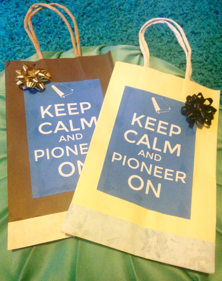 Gift bags for JW Pioneer