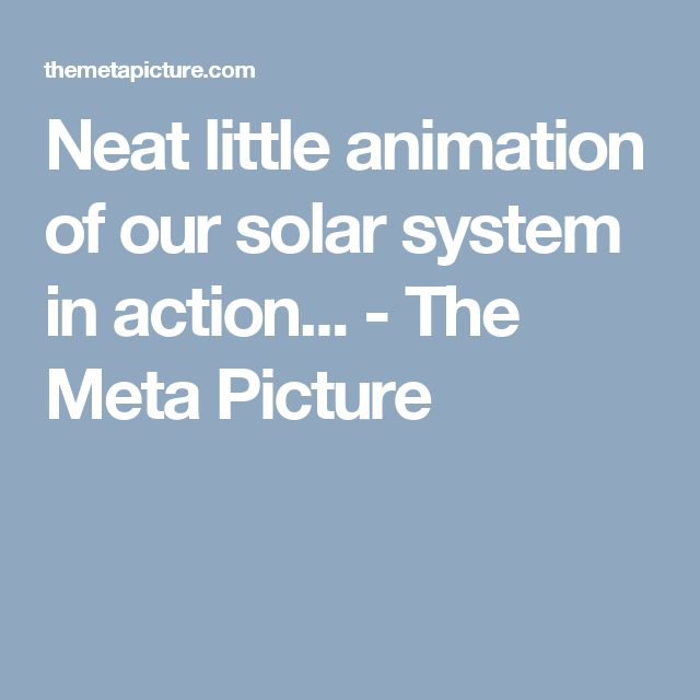 1000+ ideas about Solar System Animation on Pinterest ...