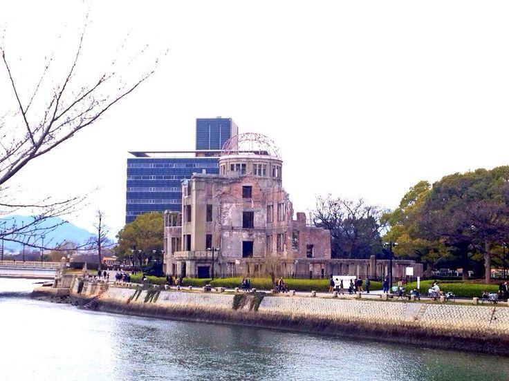 Hiroshima Peace Memorial (Genbaku Dome),JAPAN. 広島原爆ドーム
