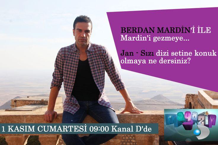 Yarın sabah 09:00'da Kanal D ekranlarından evinize misafir olmaya niyetliyiz:) Magazin D'yi sakın kaçırmayın!