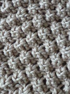 Le point d 39 astrakan tricot pinterest plus d 39 id es - Quel point pour tricoter une echarpe ...