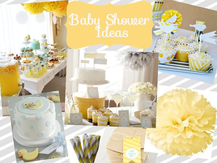yellow baby showers ideas baby
