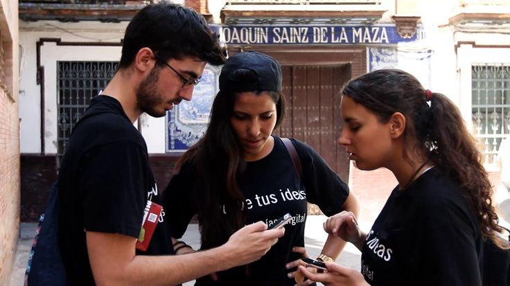 En Andalucia Compromiso Digital celebramos el Día de Internet con una Fonkana, aquí estamos!