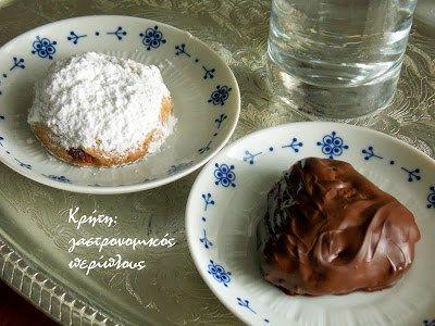Νηστίσιμοι (και όχι μόνο) κουραμπιέδες ελαιολάδου με αμύγδαλο και αχνοζάχαρη ή σοκολάτα. – Κρήτη: Γαστρονομικός Περίπλους