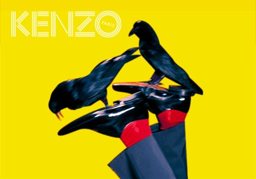 The first GIF of our Fall/Winter 2014 campaign - Kenzine, the Kenzo official blog