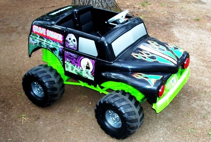 grave digger power wheels | Modified Power Wheels - RSS scores again ~ (Grave Digger)