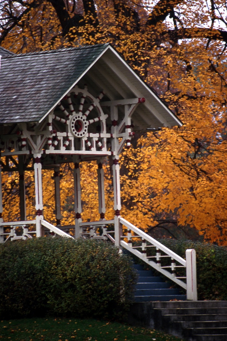 Details on this gazebo are so pretty