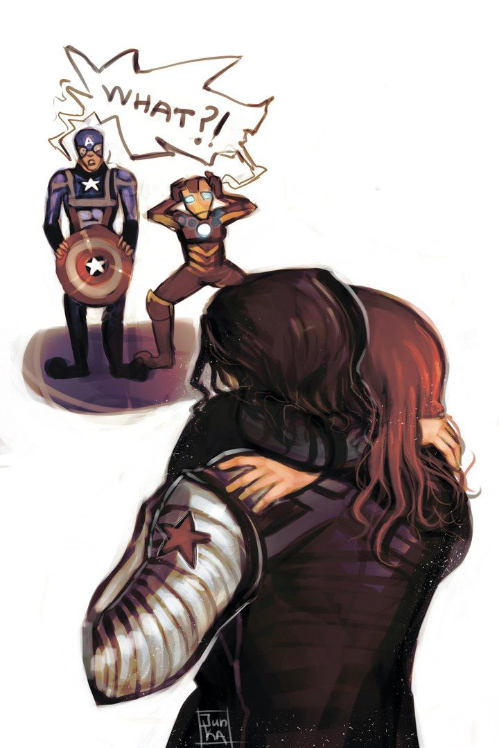 Winter Soldier / Bucky Barnes  & Black Widow