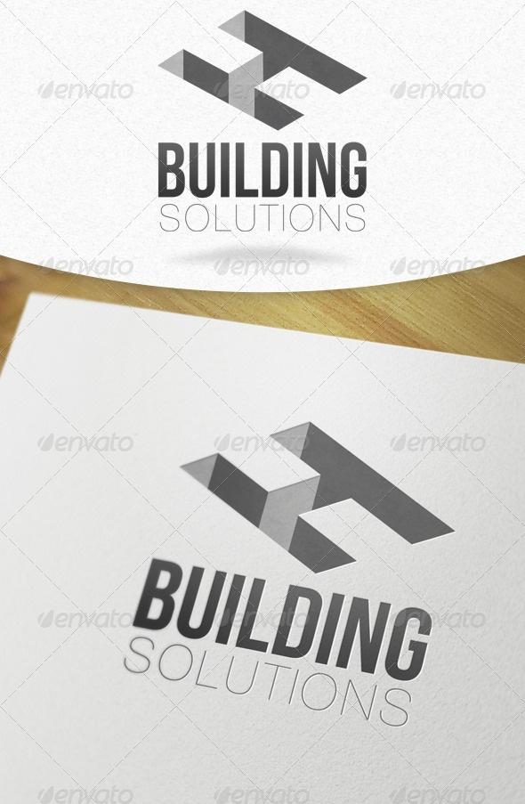 Building Solutions H Letter Logo.
