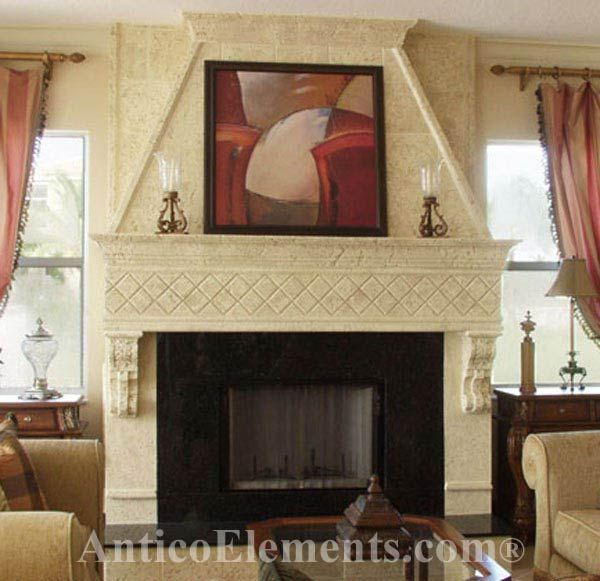 fireplace remodeling ideas  Our Coral Stone and