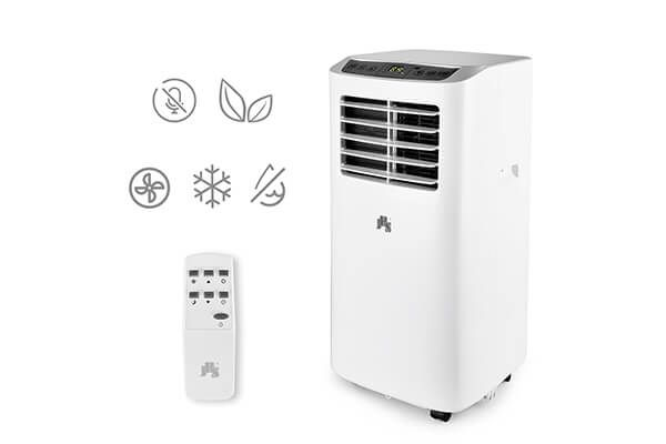 JHS A019-8KR/A Portable Air Conditioner With Remote Control