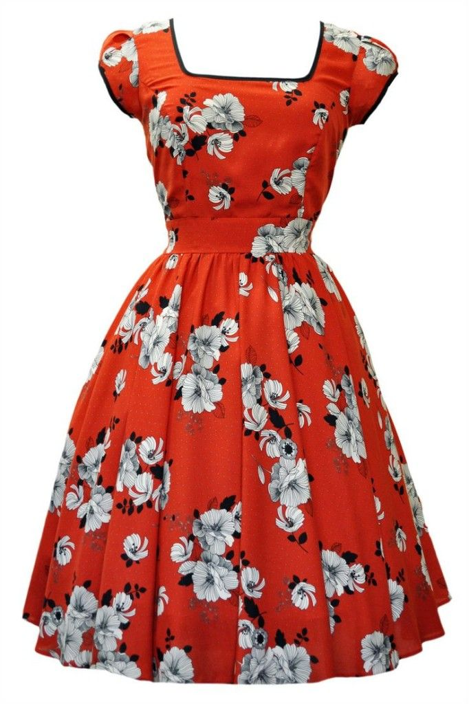 The Nostalgic Series: 40s/50s Inspired Dresses For Spring/Summer 2014 - Anna Nuttall
