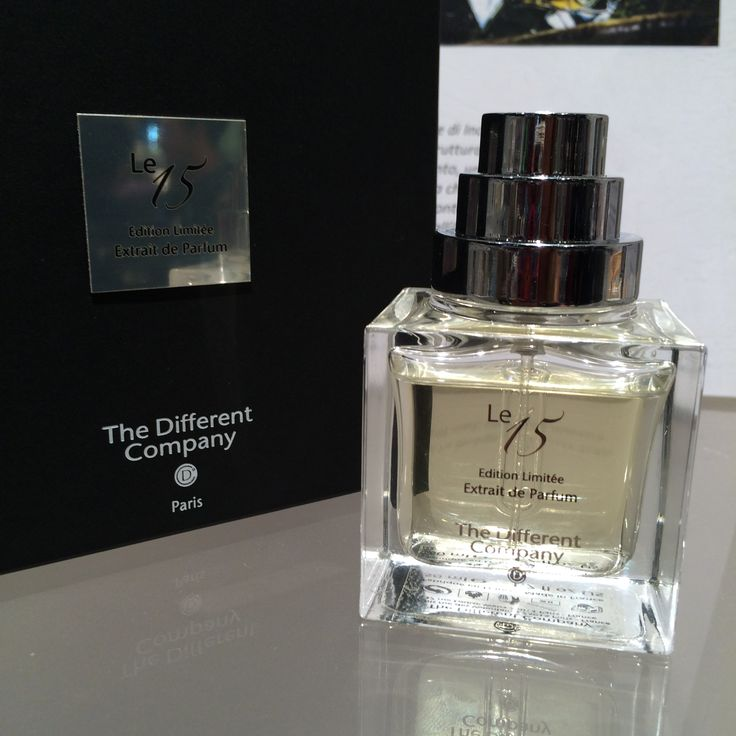 THE DIFFERENT COMPANY - new fragrance LE 15 EXTRAIT DE PARFUM Limited Edition