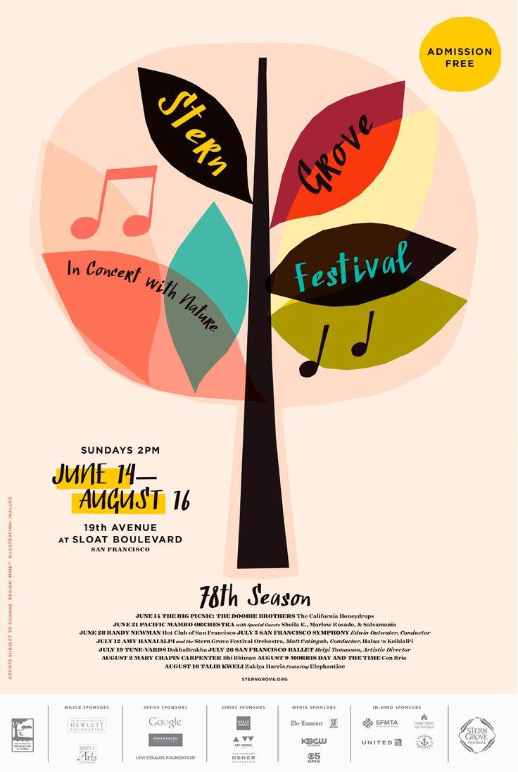 Stern Grove Festival on Behance